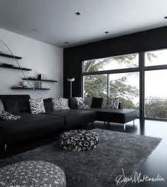 HD wallpapers black and white interior design ideas