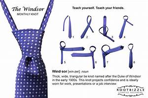 Tie Double Windsor Knot Diagram