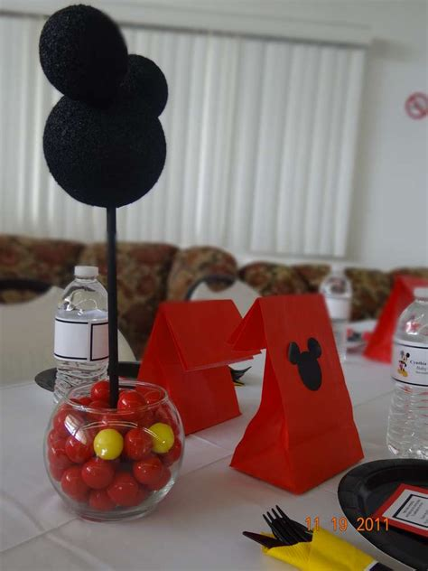 Mickey Mouse Baby Shower Party Ideas  Photo 15 Of 29