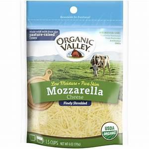 Organic Valley Mozzarella Fancy Shredded Cheese from H-E-B ...