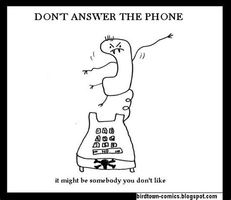 how to answer the phone don t answer the phone lohrman free