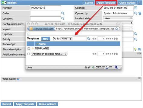 create base templates for multiple advanced templates servicenow guru