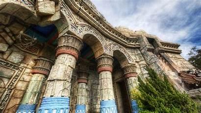 Buildings Ancient Wallpapers Columns Hdr Architecture Building