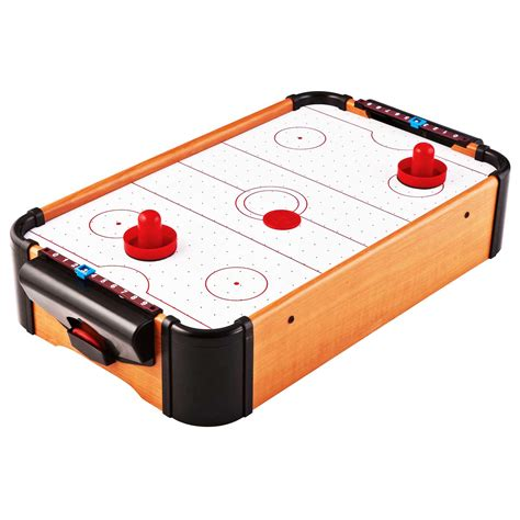 aww cool toys  air hockey wooden tabletop classic