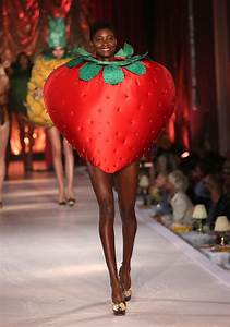 Complaining About These Models Walked The Runway In Fruit Costumes And