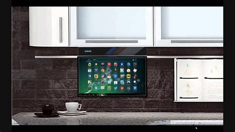 "Eidola Under Cabinet 17"" Smart Tv  Youtube"