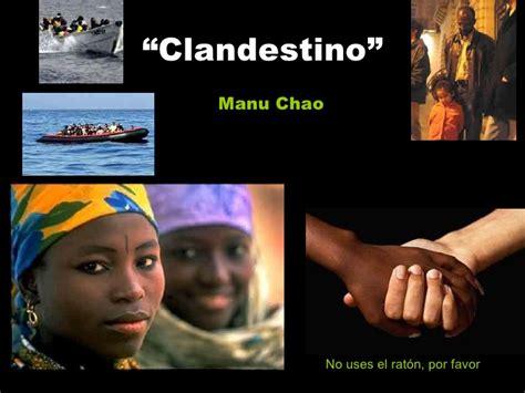 Ser Inmigrante Por Manu Chao