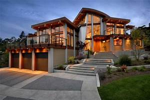 Custom home designer with glass wall ideas Home Interior