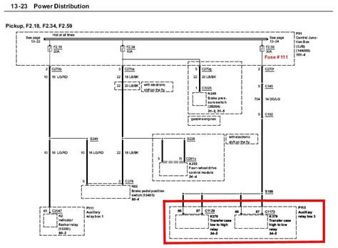 4 Wheel Wiring Diagram 1993 Ford Explorer by In Colorado 4x4 Not Coming On Ford Truck Enthusiasts