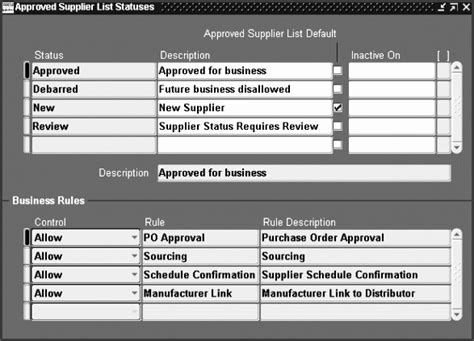 approved supplier list template sampletemplatess