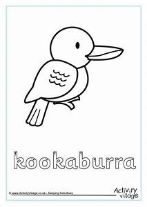 kookaburra finger tracing With finger tracing alphabet letters