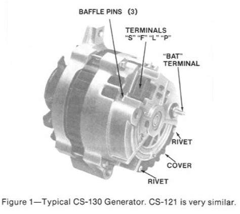 delcoremy cs cs alternator repair manual page