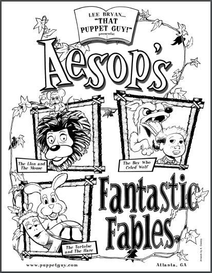 aesops fantastic fables  puppet guy