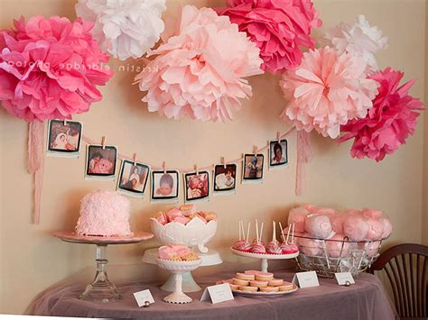 baby shower decorations  girls