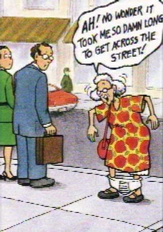 humor & old age | Funny old people, Funny cartoons, Senior ...