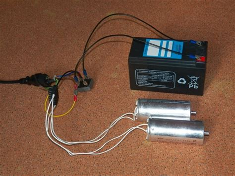 capacitive battery charger  opensolutions
