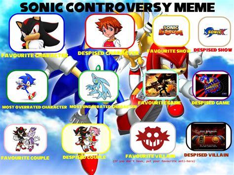 Ferrumflos1st Sonic Controversy Meme By Ferrumflos1st On