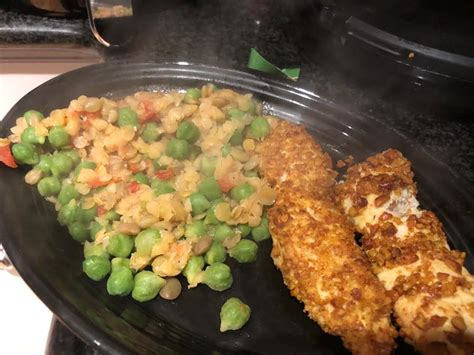 arbonne approved chicken fryer air crusted chickpea fingers comment brittany march