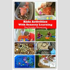 Kids Activities With Sensory Learning
