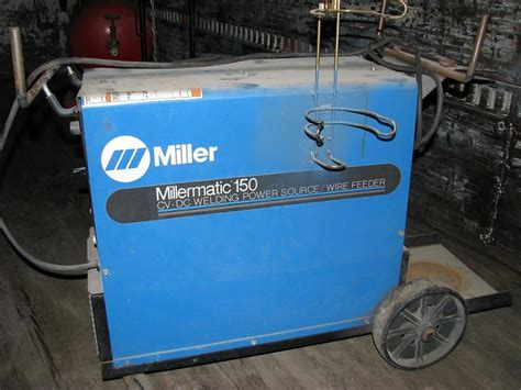 miller millermatic 150 cv dc welding power source wire feeder