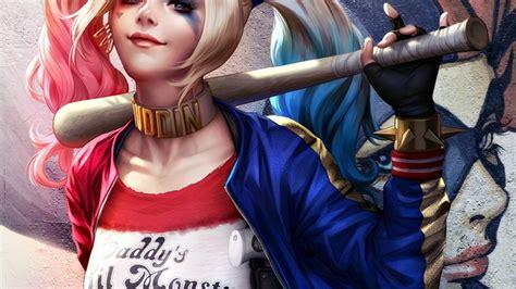 Harley Quinn Anime Wallpaper - joker and harley quinn wallpaper