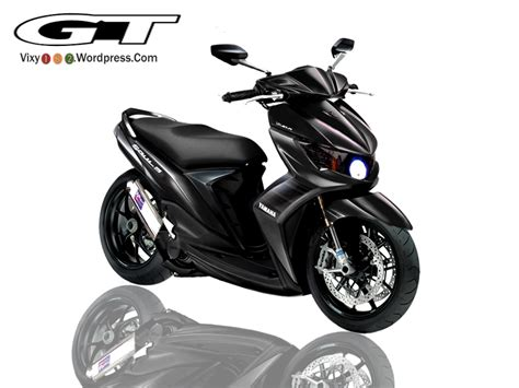 Mio Soul Modifikasi Warna by Modifikasi Mio Soul Warna Hitam Modifikasi Motor