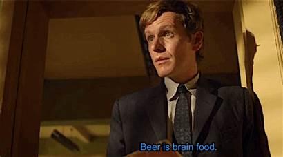 Endeavour Morse Shaun Evans Brain Inspector Beer