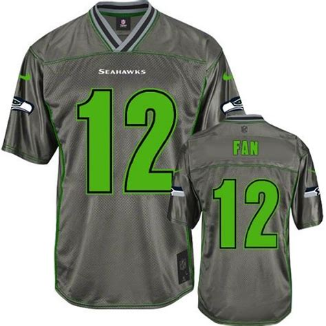 nfl seattle seahawks youth limited grey vapor nike jersey