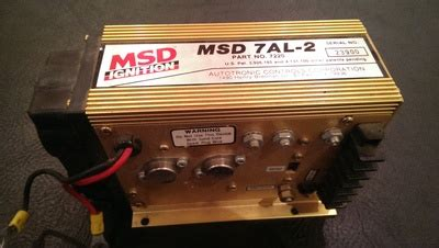 Msd 7al 3 Wiring by Msd 7220 7al 2 For Sale In Marne Mi Racingjunk Classifieds