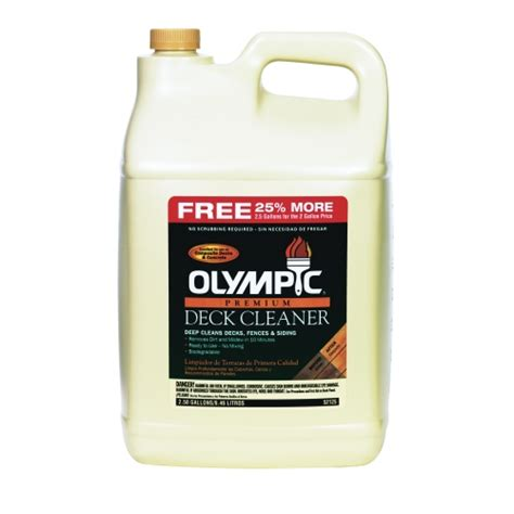 Olympic Deck Cleaner by Olympic 174 Premium Deck Cleaner 52125a S2 2 Pack Ace