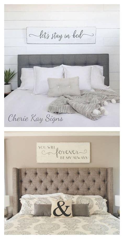 love  bedroom signs  hang   headboard