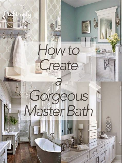 Simple Master Bathroom Ideas by Simple Ideas For Creating A Gorgeous Master Bathroom Make