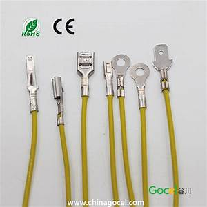 Brass Terminal Wiring Harness Male Female Terminal Wire