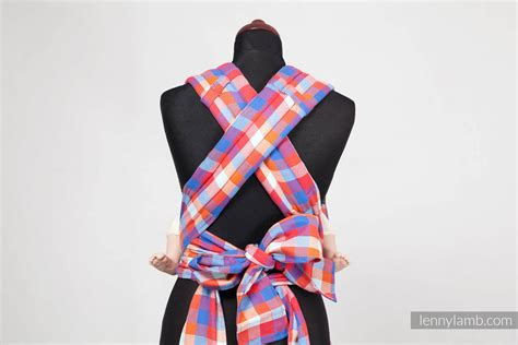 MEI-TAI carrier Mini, diamond weave - 100% cotton - with ...