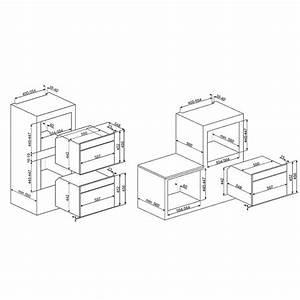 Four Multifonction Vapeur : four multifonction combin vapeur smeg sf4104vcn noir fab ~ Premium-room.com Idées de Décoration