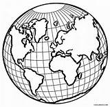 Coloring Earth Printable sketch template