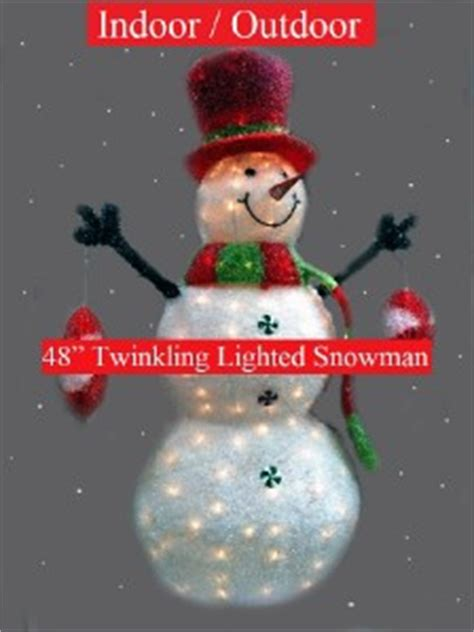 philips snowman 48 quot led lighted twinkling indoor outdoor