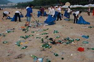 Sanya Beach Covered with Garbage Embarrasses Chinese ...