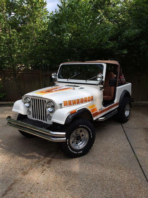 jeep classic 1984 jeep cj7 a c and hardtop make offer renegade cj