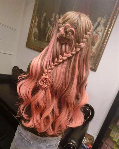 Brown Hair With Tips by 17 Best Ideas About Pink Dip Dye On Dip Dye