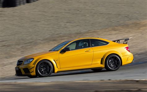2013 Mercedes-benz C63 Amg Coupe Black Series