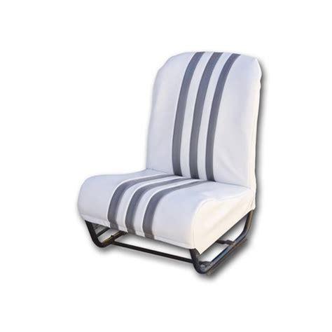 garniture siege 2cv garniture siège av d symétrique skaï blanc raye gris 2cv
