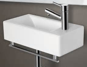 Tiny Wall Mount Sink alfi ab108 small modern rectangular wall mounted ceramic