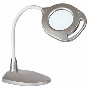 Ottlite 2 in 1 led magnifier floor and table light tools for Ottlite floor lamp with magnifier