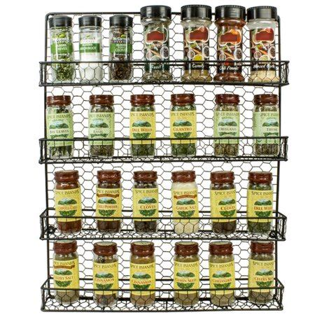 5 Tier Spice Rack by Sorbus Spice Rack And Multi Purpose 4 Tier Organizer
