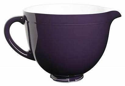 Kitchenaid Purple Bowl Ceramic Quart Regal Mixer