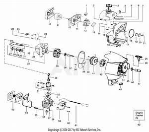 Poulan S31sst Snapper Gas Trimmer  Snapper S31sst Gas Trimmer Parts Diagram For Engine Assembly