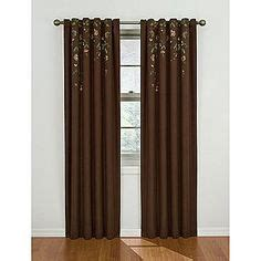 Sears Eclipse Blackout Curtains by Style 174 Meridian Grommet Top Sheer Panel