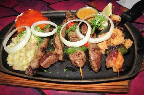 cuisine ot central mixed grill africa picture of africa cape