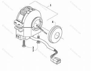 Arctic Cat Atv 2006 Oem Parts Diagram For Control Switch Housing Assembly